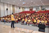 화산동봉사단 기본소양교육 및 안녕리액션캠페인