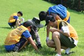 청소년여름방학프로그램 융건릉 환경정화활동