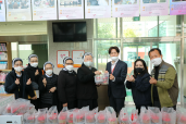 찬주섭리수녀회 반찬 100개 기부