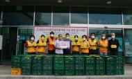 기업사회공헌활동 신사강 취약계층 식품 지원